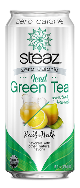 Steaz Half & Half Green Tea & Lemonade