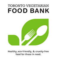 One Time DONATION To Our Featured Non-Profit: Toronto Veg Food Bank