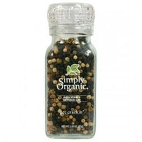 Simply Organic Peppercorn Blend Grinder