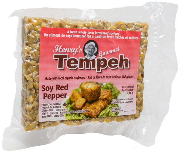 Henry's Tempeh Soy Red Pepper