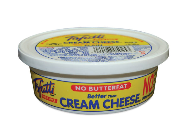 Tofutti Plain Cream Cheese