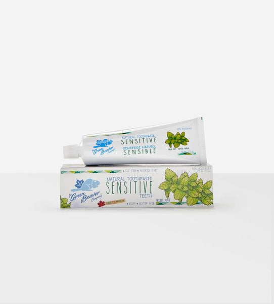 Green Beaver Sensitive Toothpaste