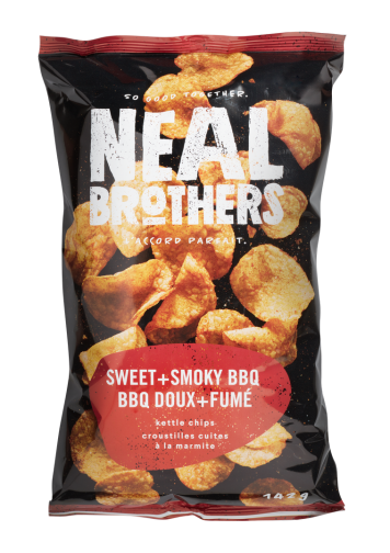 Neal Brothers Sweet & Smoky BBQ Kettle Chips