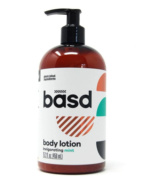 Basd Invigorating Mint Body Lotion
