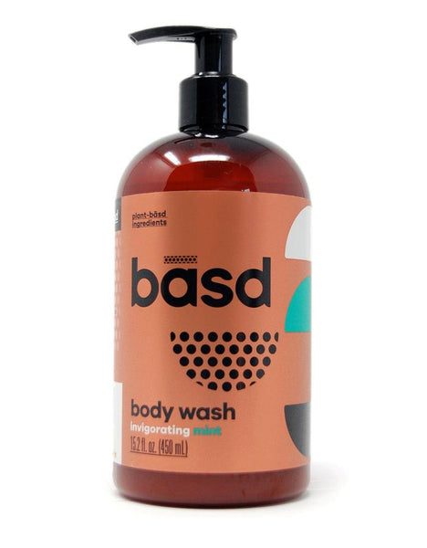 Basd Invigorating Mint Body Wash