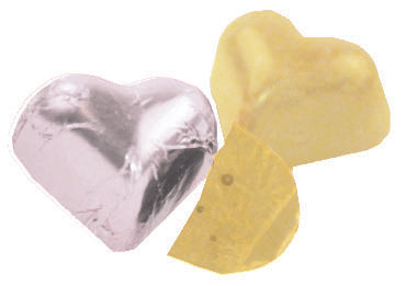 Sjaak's White Chocolate Hearts
