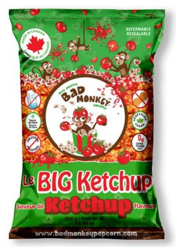 Bad Monkey Popcorn Le Big Ketchup