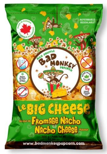 Bad Monkey Popcorn - Nacho Cheese