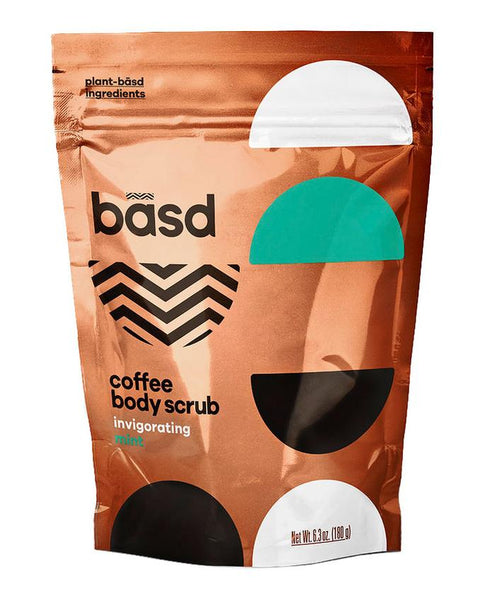 Basd Invigorating Mint Coffee Body Scrub