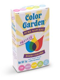 Color Garden Food Colouring - Pastels