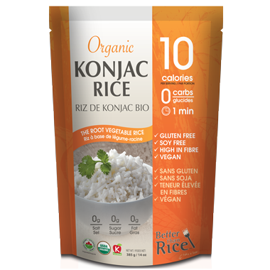 Better Than Rice Organic Konjac Rice