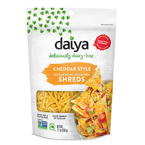 Daiya Cheddar Cutting Board Shreds