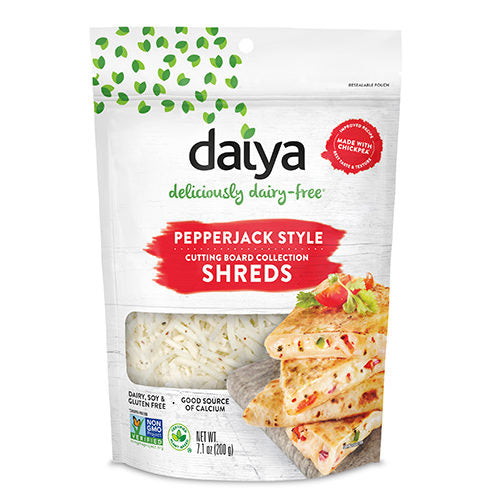 Daiya Pepperjack Cutting Board Shreds