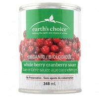 Earth's Choice Organic Whole Berry Cranberry Sauce