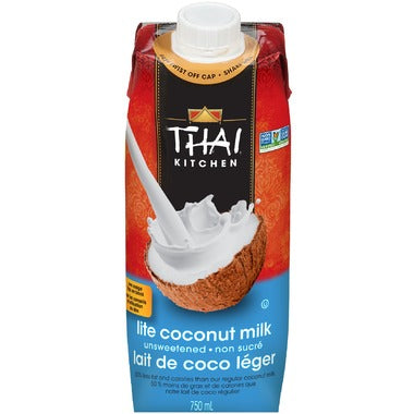 Thai Kitchen Unsweetened Lite Coconut Milk Tetra Pack