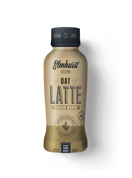 Elmhurst Flash Brew Oat Milk Latte