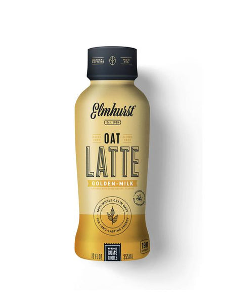 Elmhurst Golden Milk Oat Milk Latte