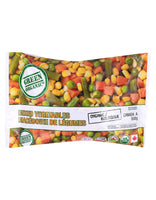 Green Organic Mixed Frozen Vegetables
