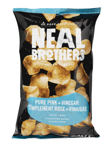 Neal Brothers Pure Pink & Vinegar Kettle Chips