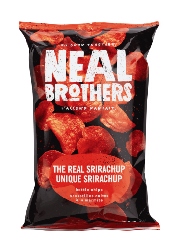Neal Brothers The Real Srirachup Kettle Chips