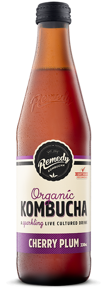 Remedy Kombucha Cherry Plum