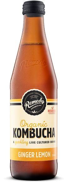 Remedy Kombucha Ginger Lemon
