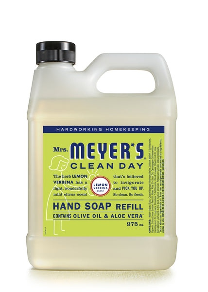 Mrs. Meyer's - Lemon Verbena Hand Soap Refill