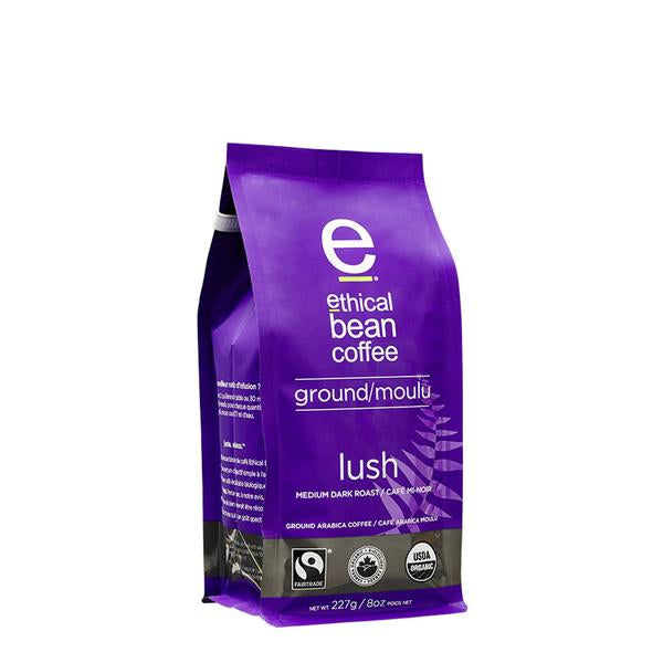 Ethical Bean Coffee Lush Medium Ground