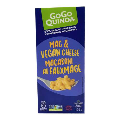 GoGo Quinoa Mac & Vegan Cheese