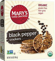 Mary's Black Pepper Crackers