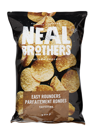 Neal Brothers Easy Rounders Tortilla Chips