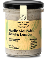 Delicious & Sons Aioli w/ Basil & Lemon