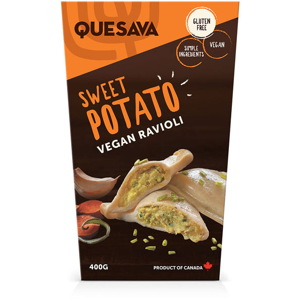 Quesava Sweet Potato Ravioli Family Pack
