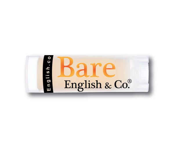 Bare English Organic Lip Balm Juicy Peach