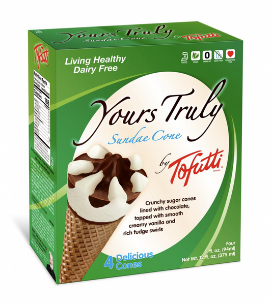Tofutti Yours Truly Ice Cream Cones