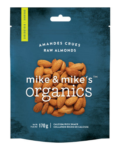 M&M Organics Raw Almonds