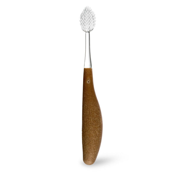 Radius Toothbrush Medium Wood Handle