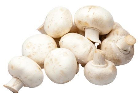 Organic White Mushrooms (227g)