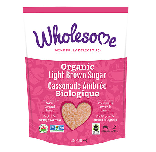 Wholesome Organic Light Brown Sugar
