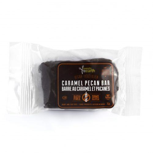 Sweets From The Earth Caramel Pecan Bar