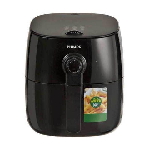 Marca: PHILIPS, FREIDORAS, FREIDORA DE AIRE AIRFRYER PHILIPS TURBOSTAR, BAJA EN GRASA, VIVA COLLECTION - NEGRO