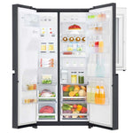 Marca: LG, REFRIGERADORA SIDE BY SIDE, Refrigerador Door-in-Door LG Linear Inverter | Door-in-Door | 22 cu.ft - Negro