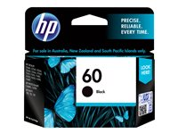 Marca: HP, Código: CC640WL, HP 60 - 4 ml - black - original - ink cartridge - for Deskjet D2680, F2430, F4213, F4435; Envy 100 D410, 11X D411, 12X; Photosmart C4740, D110