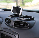zfproduct Car Inner Phone Holder 360 Degree Rotate with ABS Storage Box GPS Holder Auto Mobile Stand Kit for Jeep Renegade 2015-2016