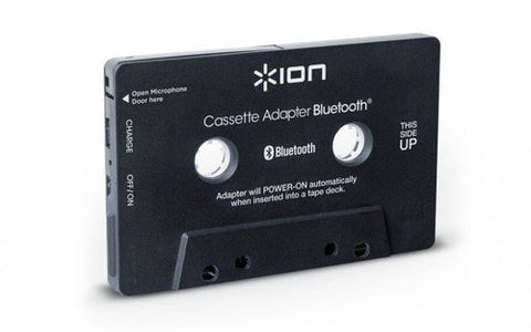 ION Audio Cassette Adapter Bluetooth | Bluetooth Music Receiver for Cassette Decks