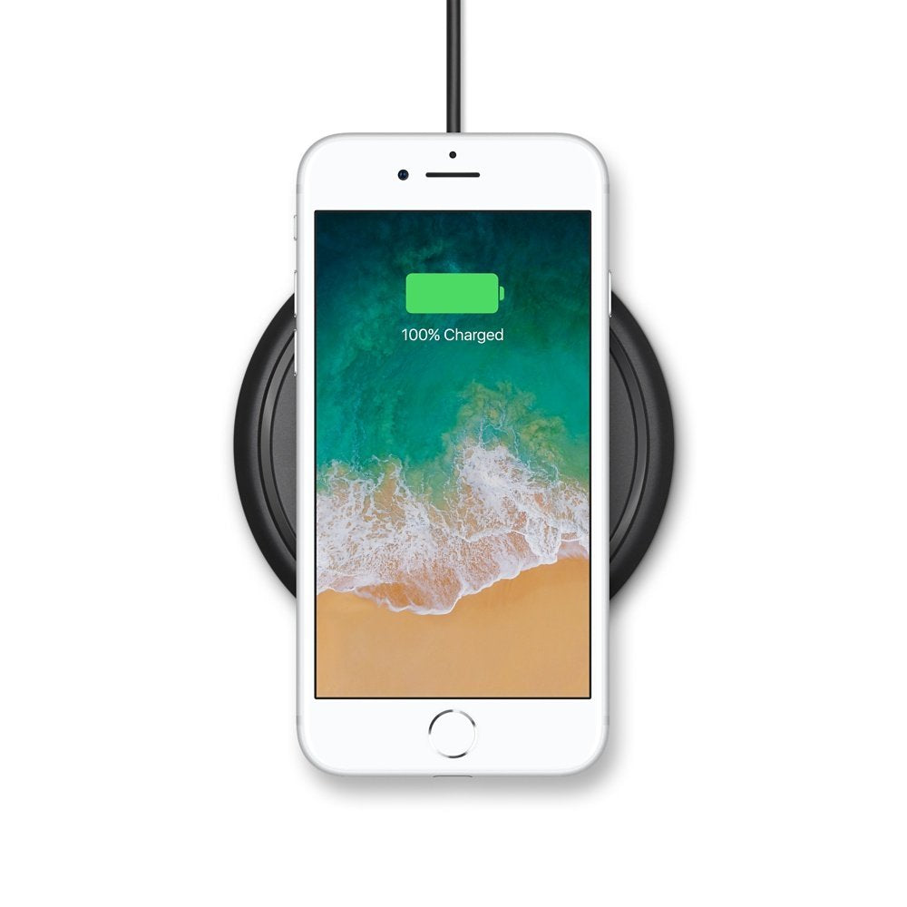promo code dc41e cd5b5 mophie - Wireless Charge Pad - Apple Optimized - 7.5W Qi Wireless ...