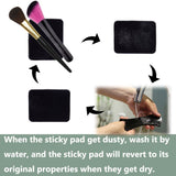 IHUIXINHE Sticky Gel Pads Anti-Slip Non-Slip Gel Mat Sticky Auto Gel Holder Cell Phone, Pad, Keys, Easy Remove, Stick to Anywhere & Holds Anything 10pcs (Square)