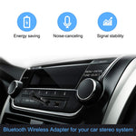 ihens5 Aux Bluetooth Adapter,Mini Wireless Car Bluetooth Receiver Headphone Adapter Handsfree Car Kit BT V4.1 A2DP with Built in Mic 3.5mm Jack for Home Audio Stereo System Headphone Speaker