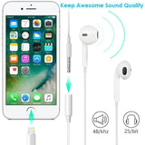 Lighting to 3.5mm Headphones/Earbuds Jack Adapter, [2 Pack] Cellphone Cable Earphones/Headsets Converter Support iOS 12/11-Upgraded Compatible with iPhone XS/XR/X/8/8 Plus/7/7 Plus/ipad/iPod