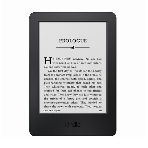 "Kindle E-reader, 6"" Glare-Free Touchscreen Display, Wi-Fi - Includes Special Offers (Previous Generation – 7th)"
